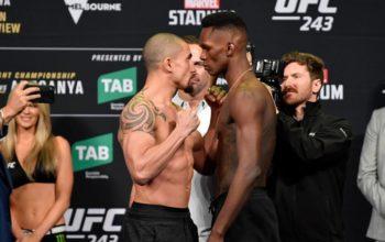 Adesanya vs Whittaker face off