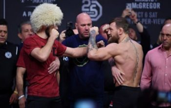 Khabib and Conor face off